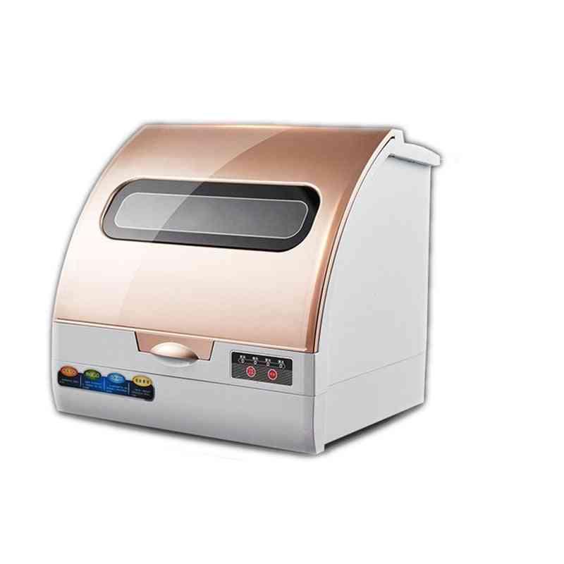 Full Automatic Domestic Desk Type Mini Air Drying Intelligent Dishwasher