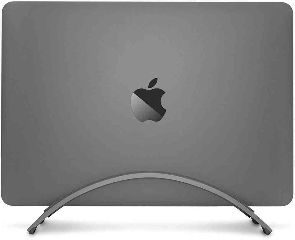 Alumimium Space-saving, Vertical Stand, Erected Holder For Macbook, Laptop