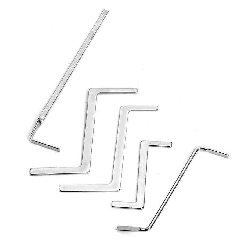 Hand Broken Key Extractor Removal Hooks Lock Pick Set Hardware