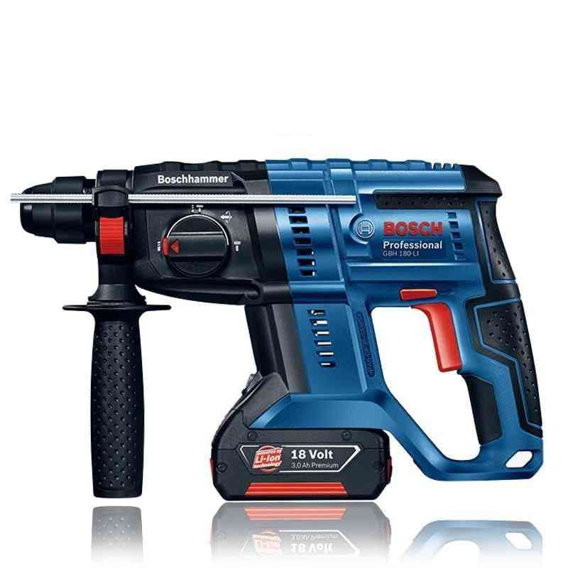 Gbh 180-li- Multifunctiona, Electric Hammer Drill, Household, Power Tool