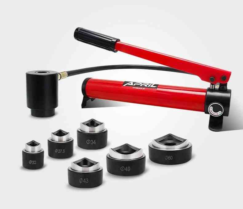 Syk-8b Hydraulic Hole, Digger Punch, Knockout Tool For Hole Puncher