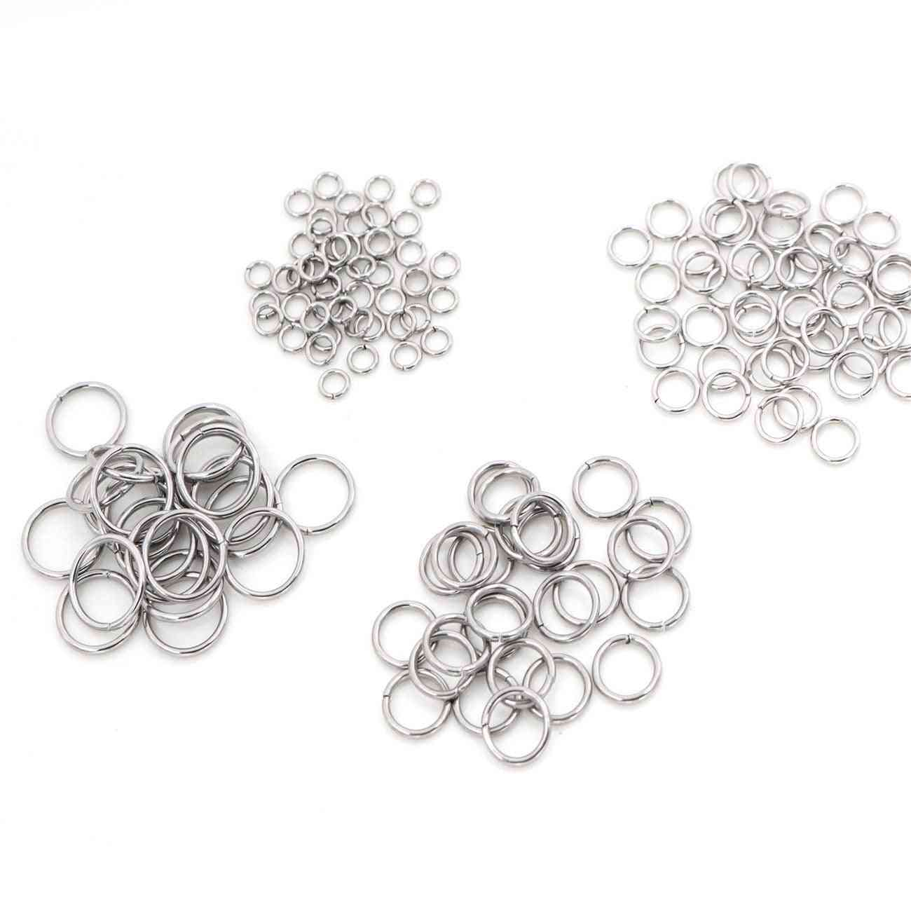 200pcs Stainless Steel Diy Jewelry Findings