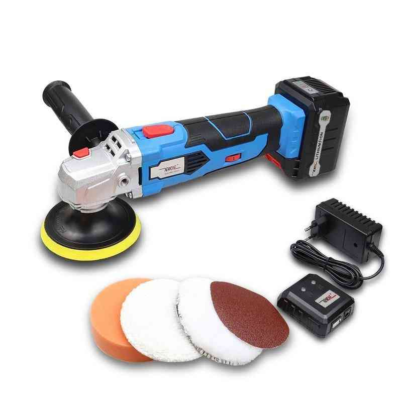 5-level Speed Waxing With 16v Lithium Battery, Portable Car Polisher Machine