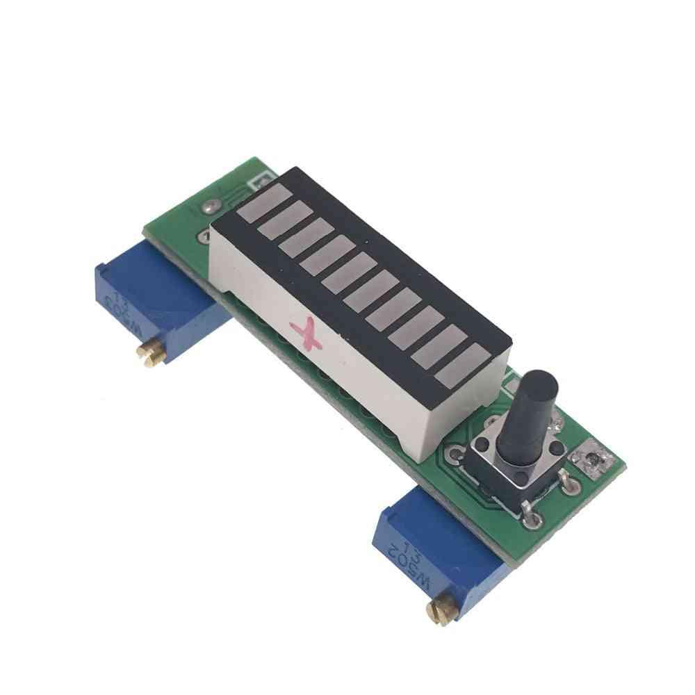 10 Segment 3.7v Lithium 12v Battery Capacity Indicator Module Power Level Tester Led Display Kit