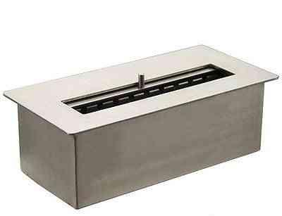 Bio Ethanol Fireplace Stainless Steel Burner With Ceramic Fiber Inside