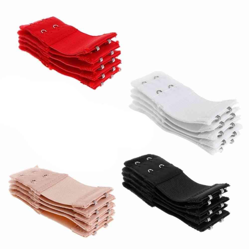 Elastic 2 Hook Soft Bra, Extension Strap Underwear Strapless Accessories