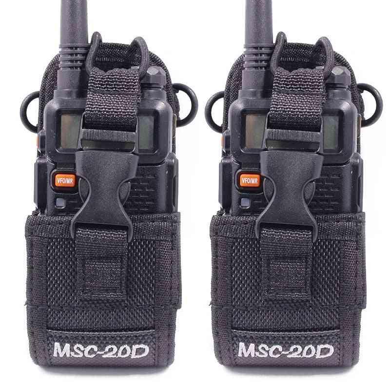 Msc-20d, Nylon Carry Case For Walkie Talkie