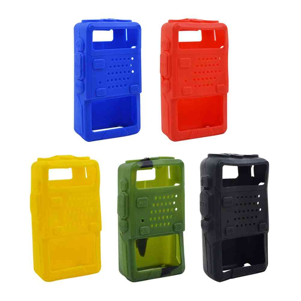 Holster Silicone, Handheld Soft Case, Cover Shell For Two Way, Mobile Radio