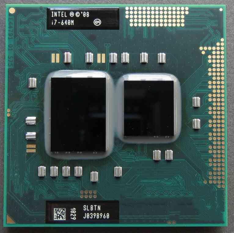 I7 640m, Slbtn Dual Core, 2.8ghz/ L3 4m, Cpu Processor Socket