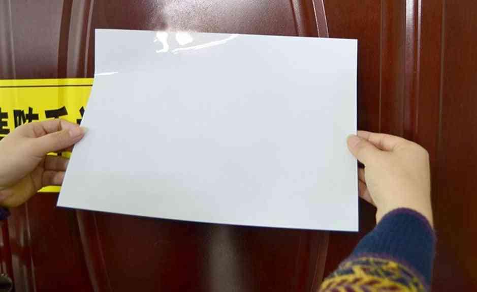 A4 Soft Magnet Whiteboard For Fridge