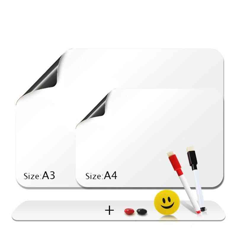 Flexible Fridge Magnets Soft Mini Message Board