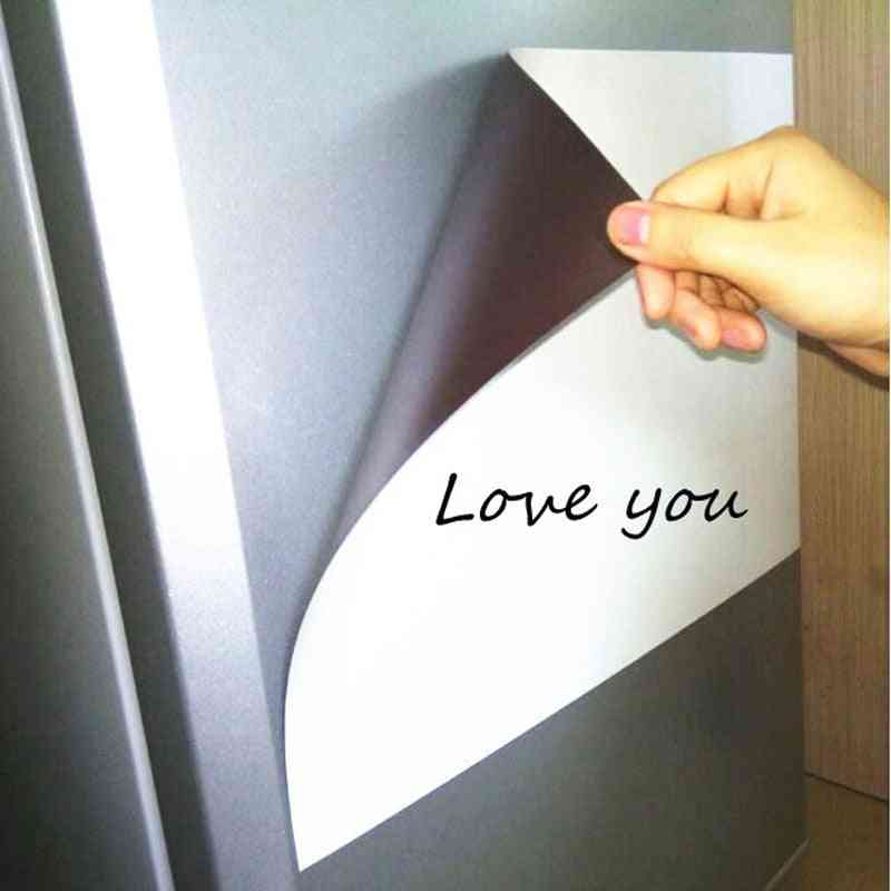 Magnetic Fridge Stickers A3 Size Whiteboard