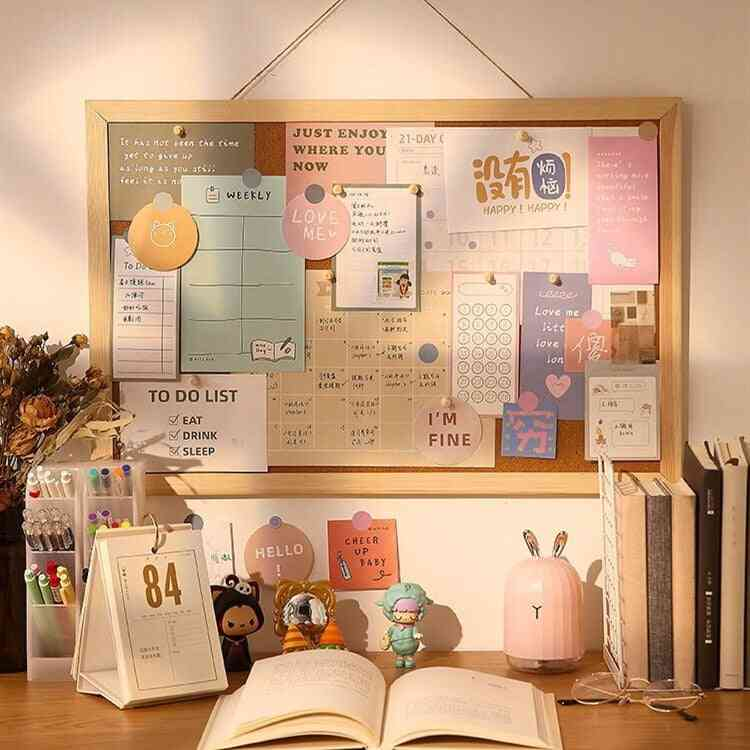 Wooden Letter Message Board