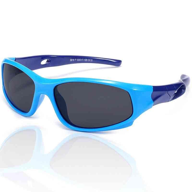 Children Polarized Sports Safety Coating Sunglasses, Goggles