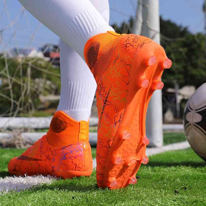 High Ankle Cleats Football Sports Shoes