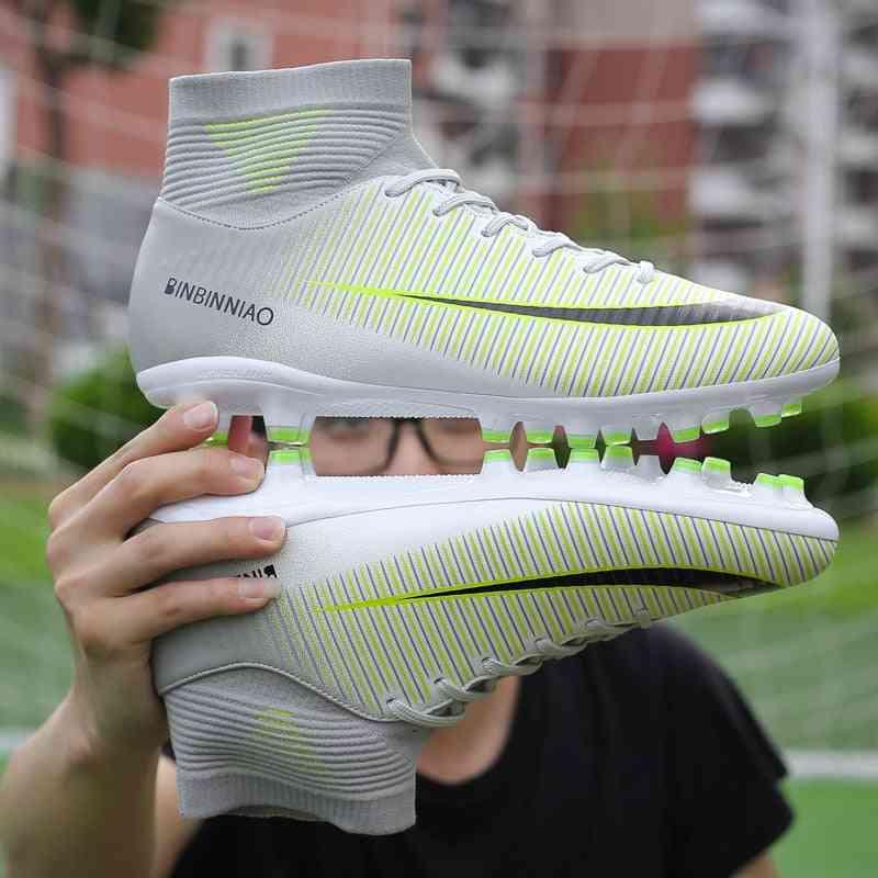 Indoor Soccer Training Sneakers, Men Football Boots