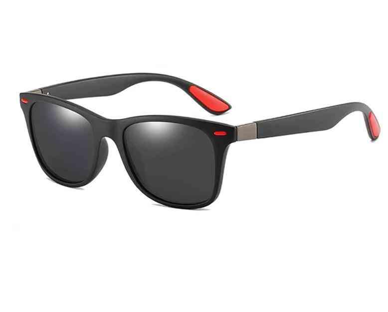 Classic Square, Plastic Driving, Polarized Sunglasses, Women