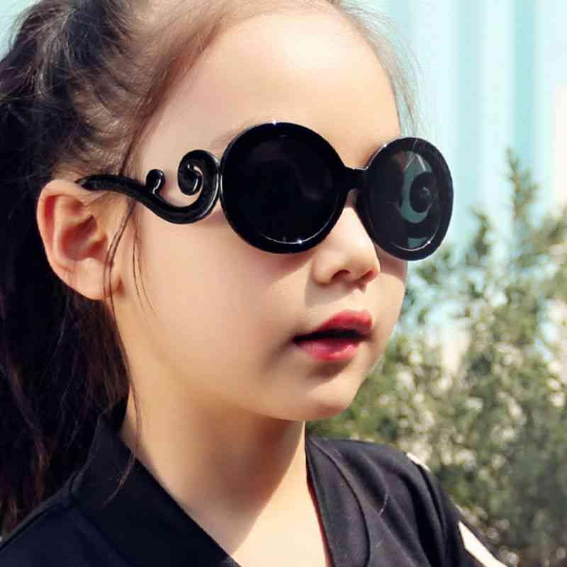 Children Cute Radiation Protection Uv-400 Silicon Sunglasses
