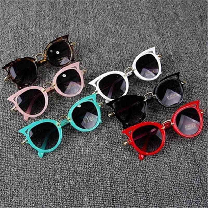 Cat Eye- Uv400 Lens, Sun-glasses, Cute Eyewear, Shades Goggles