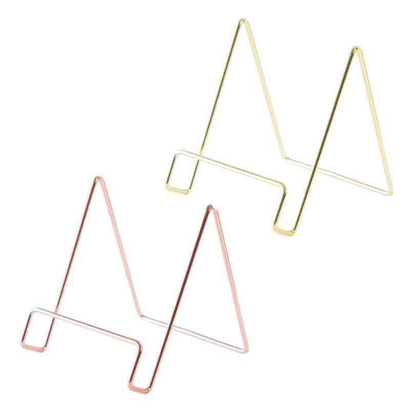 Creative Geometric Storage Rack, Simple Wrought Iron, Organizer Stand Holder