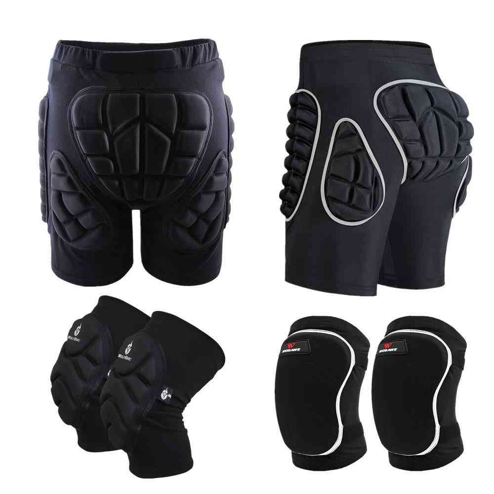 Roller Padded Protection Gear Racing Body Safety Shorts