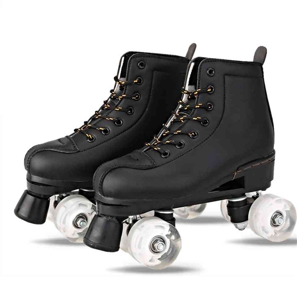 Artificial Leather Roller Skates