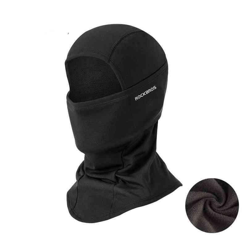 Outdoor Thermal Fleece, Snowboard Warm, Face Mask With Ear Cap & Women