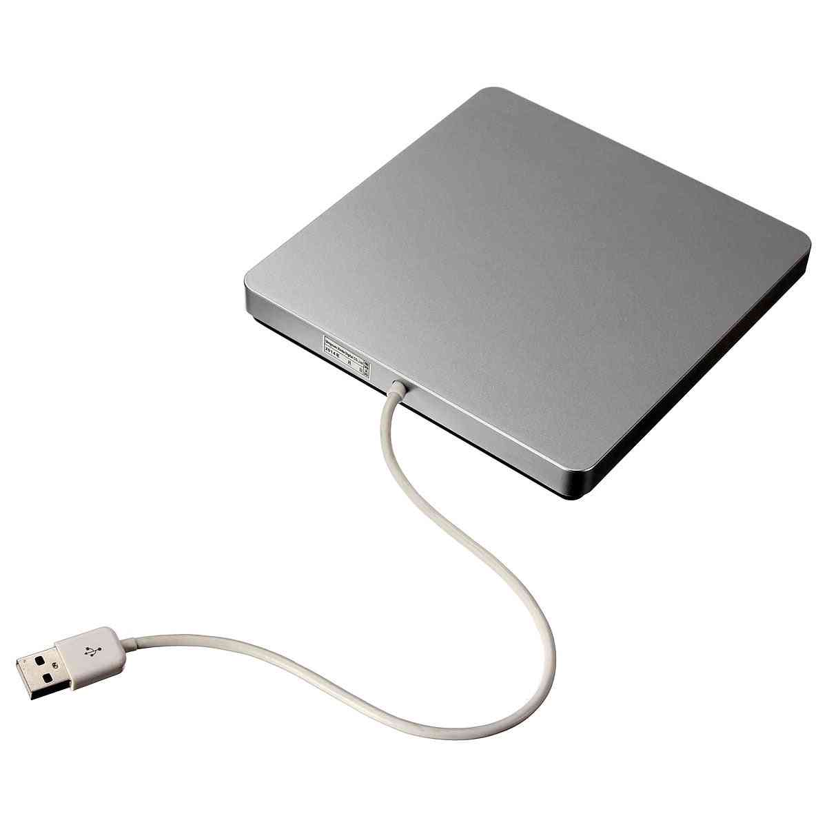 Usb External Cd Dvd Rom Rw Player & Burner Drive