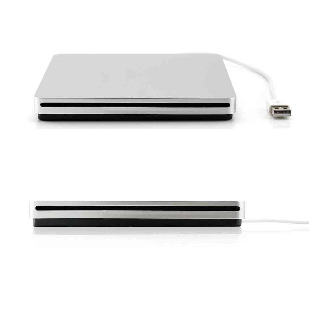 Usb 3.0 Slot Load Drive External Dvd Player Cd/dvd Rw Burner Writer Recorder Superdrive