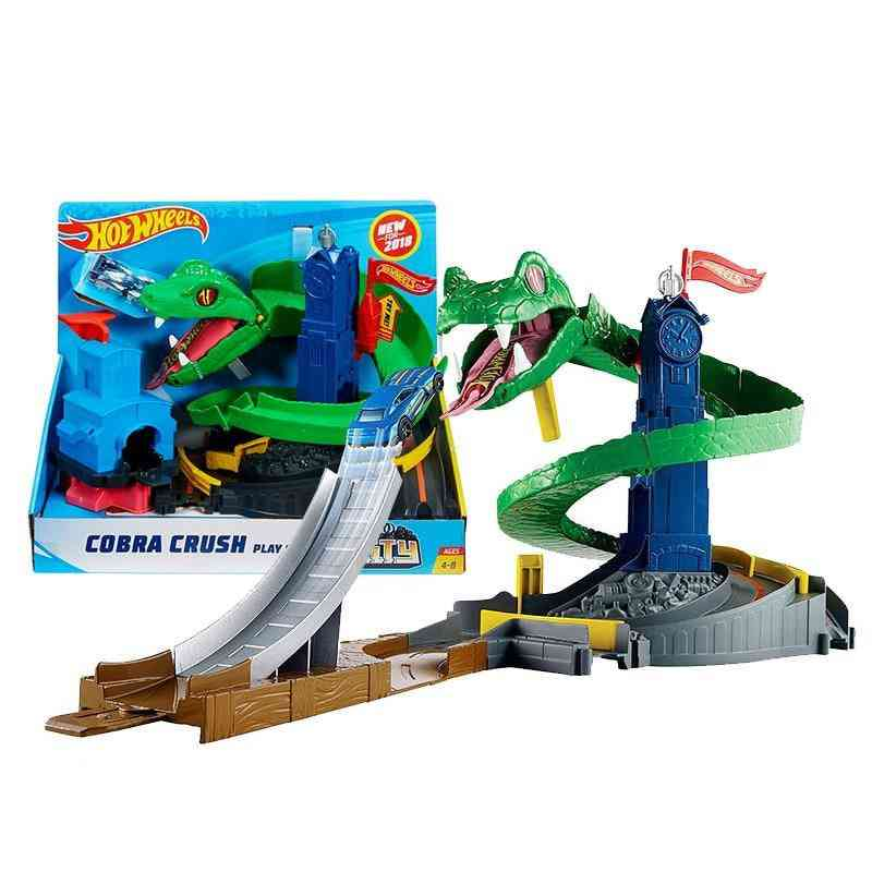 The Cobra Race Tunnel Excited Car Racing Toy