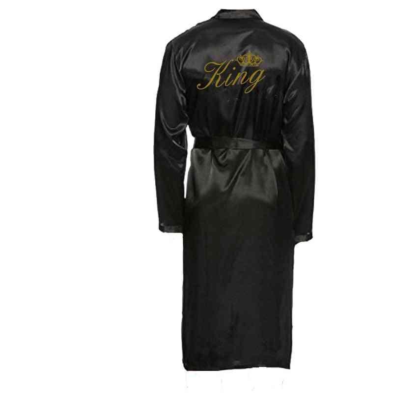 King And Queen Bath Robes, Couple Kimono Pajamas