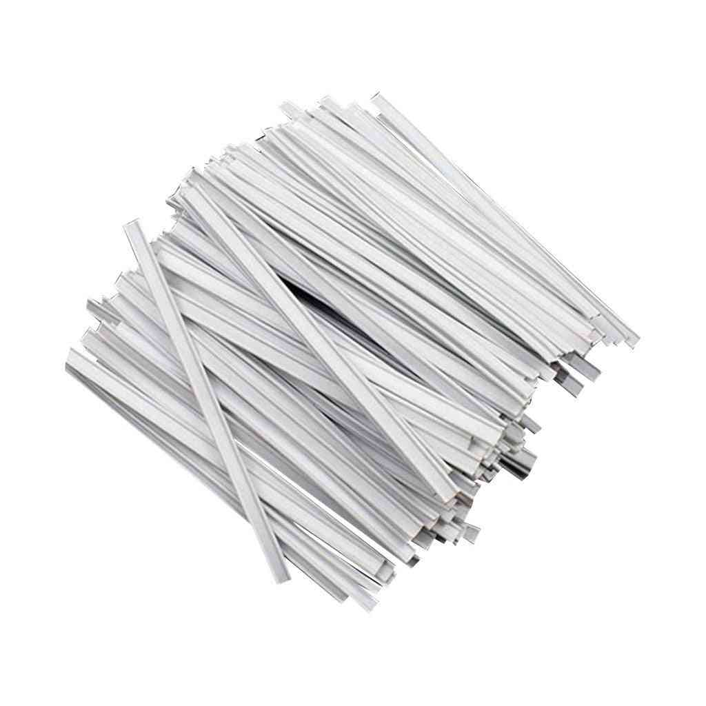 Self Making, Nose Bridge Strip Accessories For Face Masks, Fabric Protection (500pcs 10cm 3mm)