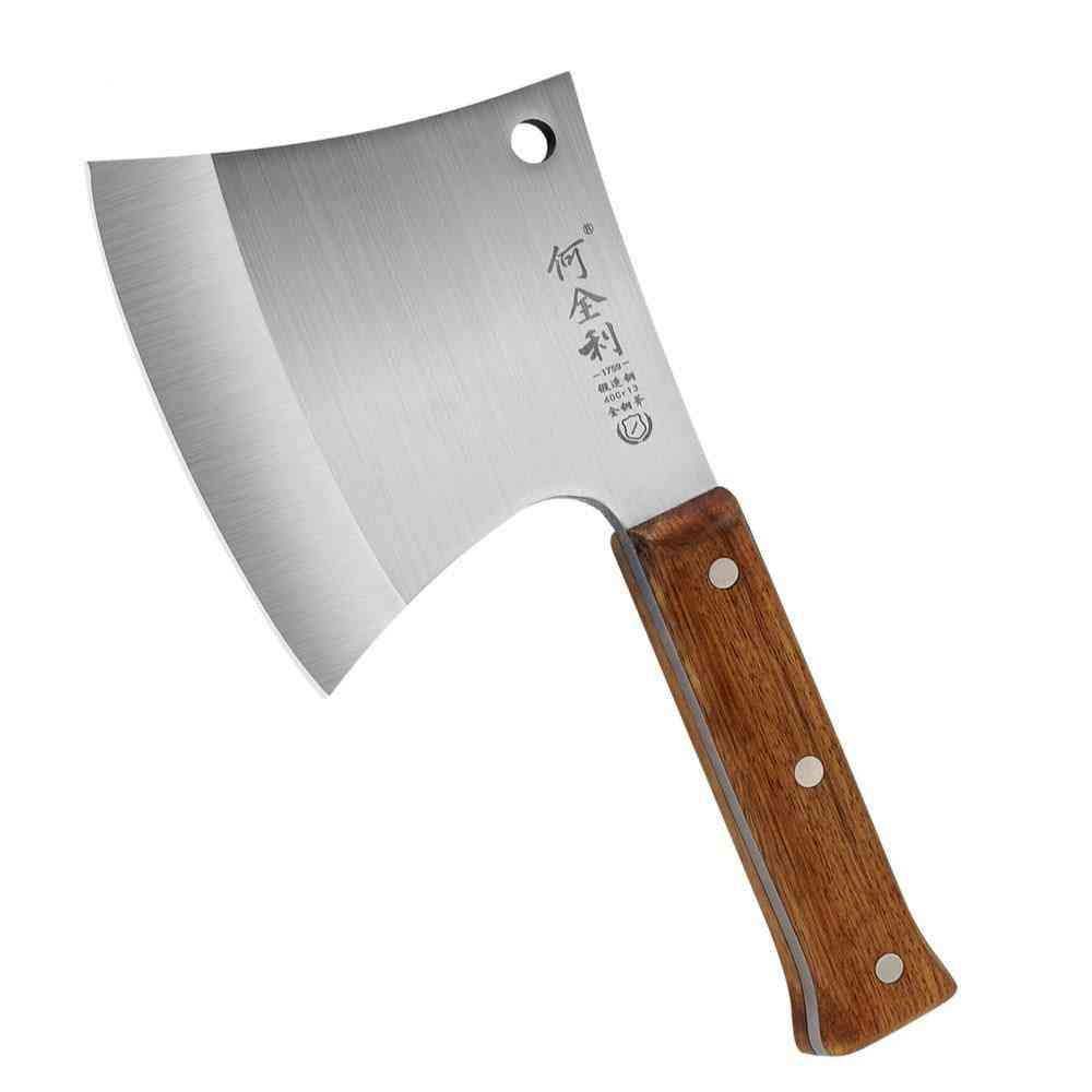 Stainless Steel-forged Cut, Chop Bone Knife, Chef Chopper, Cutting Axe