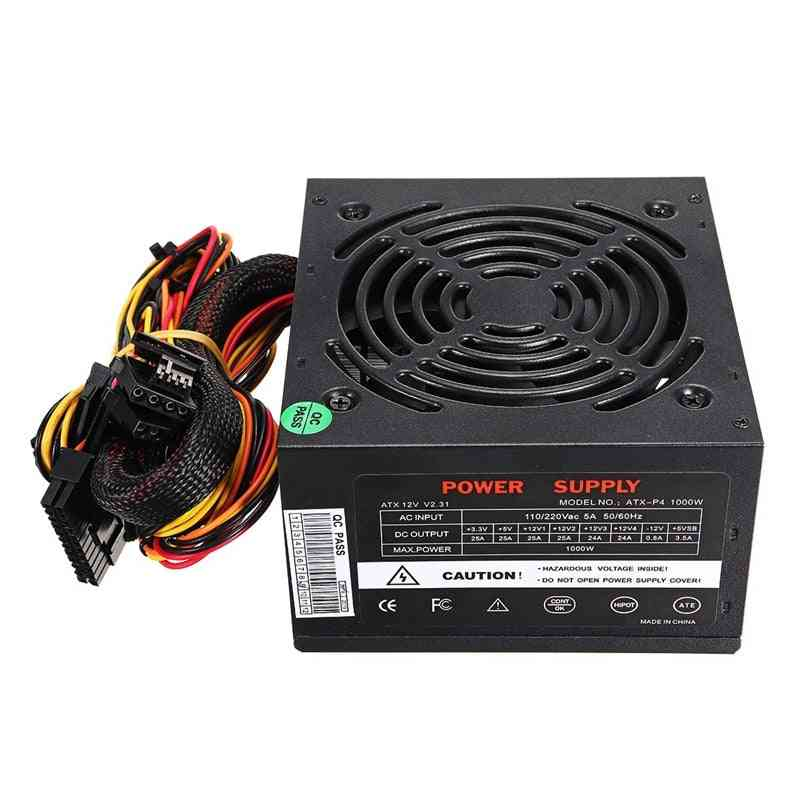 1000w Power Supply, 12v Pc For Pc Computer
