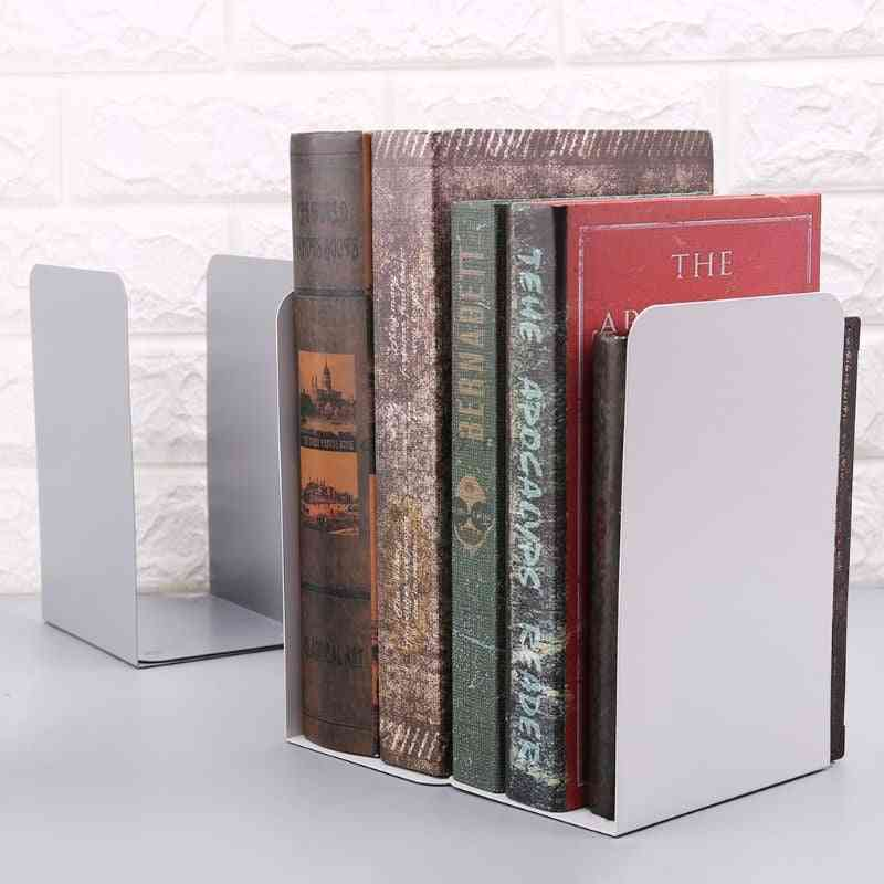 Metal Storage Holder For Organize Bookend