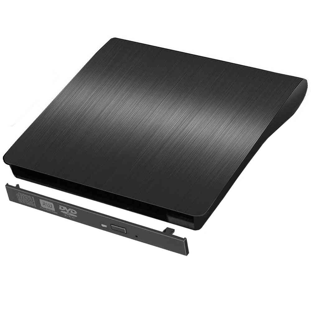Slim Usb3.0 Sata External Dvd Enclosure Hard Plastic Case