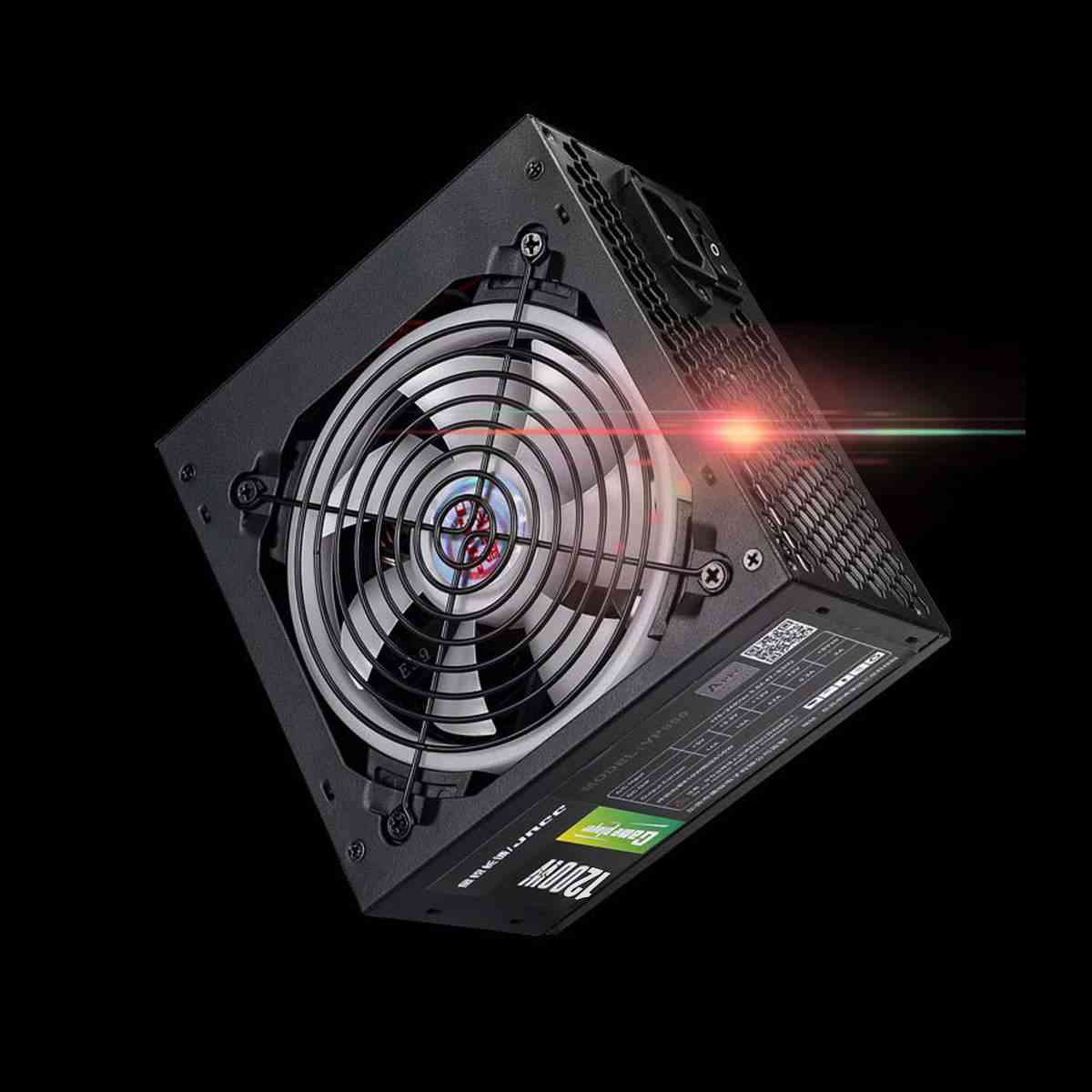 1200w Pc Power Supply, Active Cooling Fan