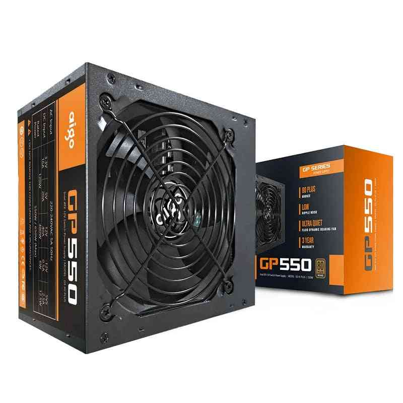 550w Power Supply Computer, Active Cooling Fan