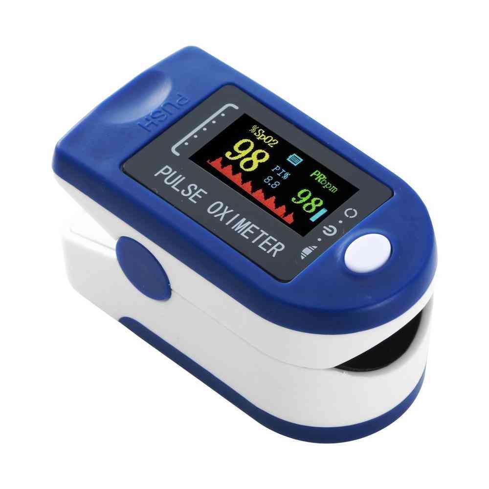 Portable Finger Pulse Oximeter, Heart Rate Monitor Tool