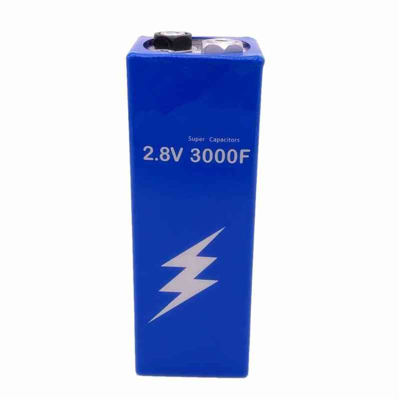 High Frequency Super Capacitor 2.8v3000f With Protection Board For Car