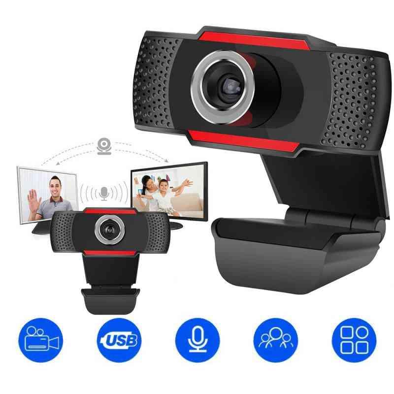 Usb Computer Full Hd 720/1080p Digital Webcam Camera With Micphone