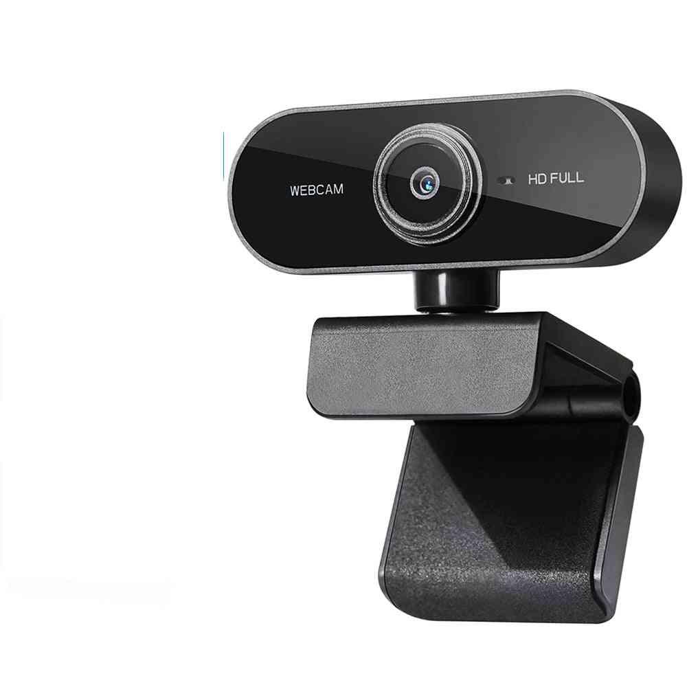 Mini Rotatable Hd 1080p Computer Pc Web Camera With Microphone