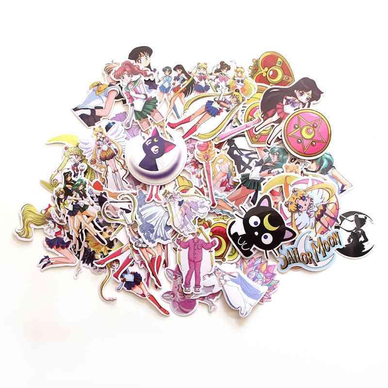 Sailor Moon Anime Cartoon Stickers