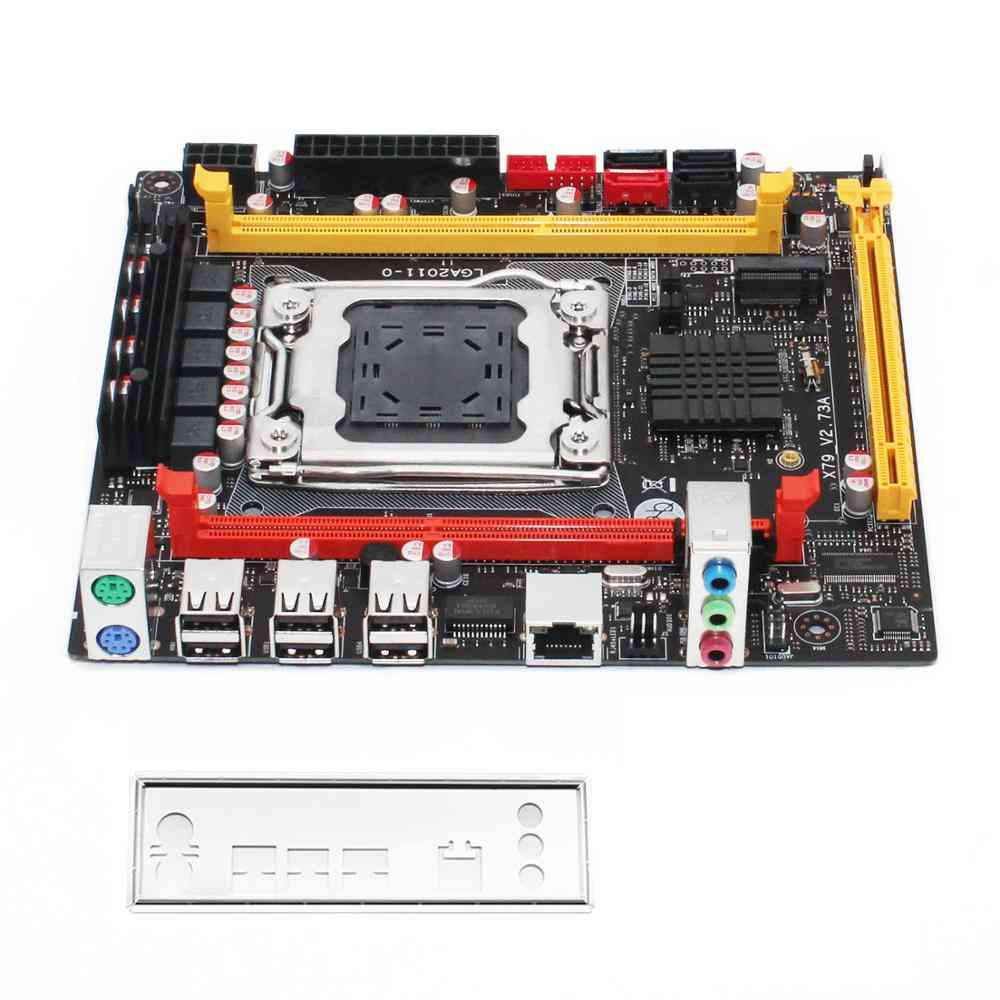 X79 Desktop Motherboard, Lga Support Xeon E5 Series Processor