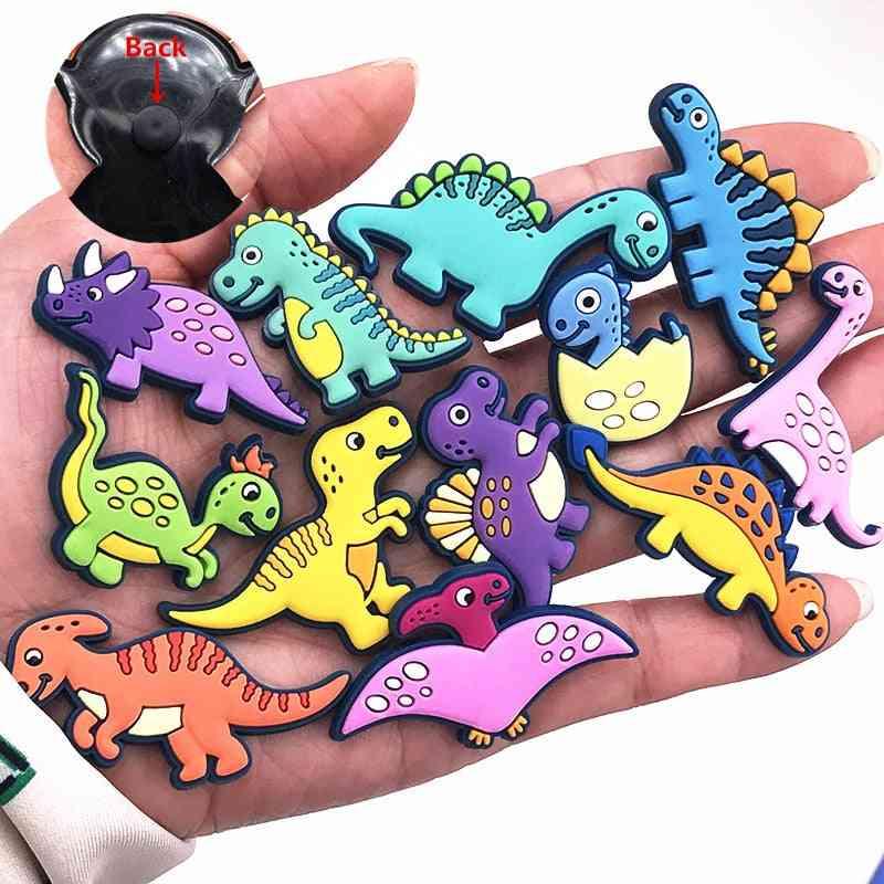 1pcs- Shoe Charms, Novel Dinosaur, Cute Garden, Shoe Buckle Accessories