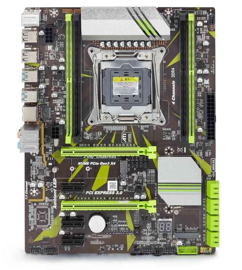 X99 Lga2011-v3 Professional 4 Channel Ddr4 Desktop Computer Motherboard