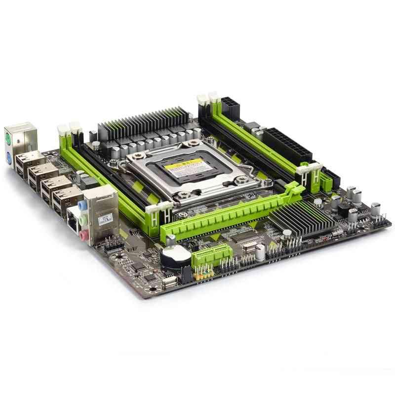 X79g X79 Motherboard Set With Lga2011 Combos Xeon E5 2620 Cpu 4pcs X 4gb = 16gb Memory Ddr3 Ram 1333mhz Pc3 10600r Ram