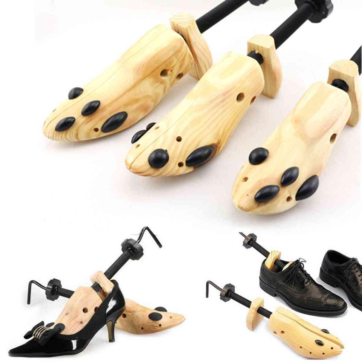 Tree Wood Shoes Stretcher, Adjustable Flats Pumps Boot Shaper