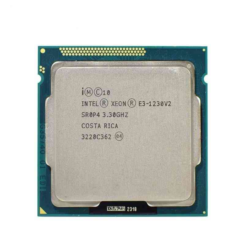 Quad Core Lga 1155 Cpu E3 1230v2 Processor