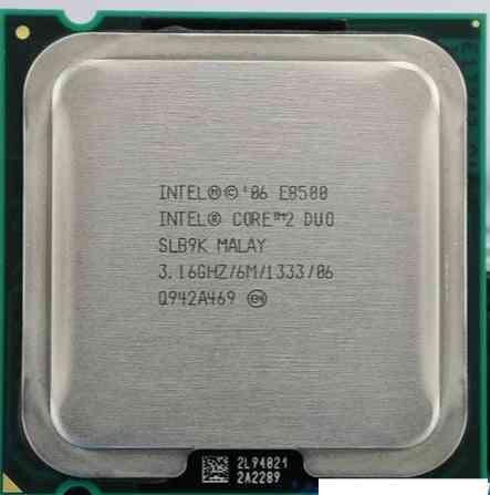 E8500/ Core-2 Duo, Cpu Processor, Dual-core Socket